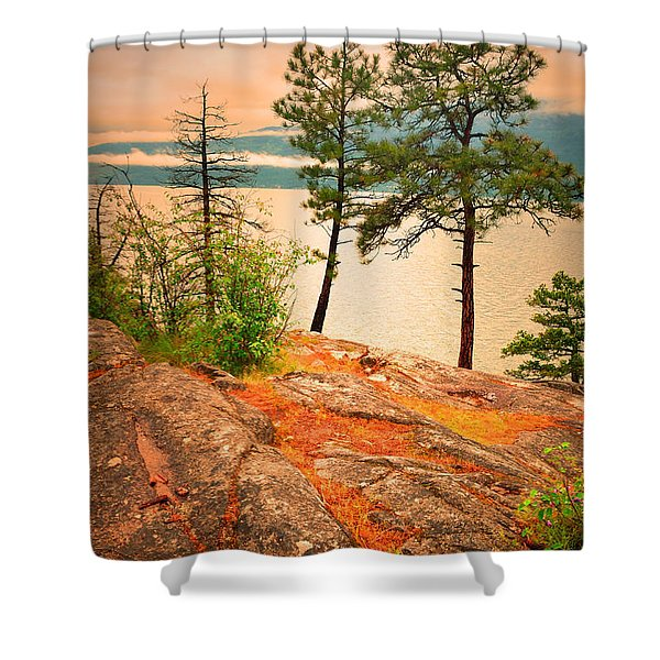 Welcoming The Morning Shower Curtain by Tara Turner