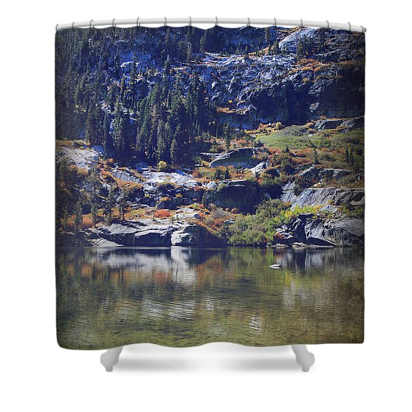 What Lies Before Me Shower Curtain by Laurie Search