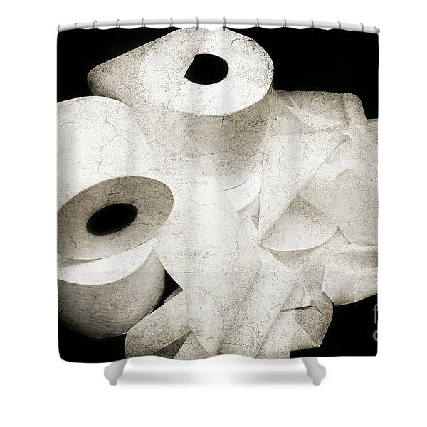 Where Is My Spare Roll HC V3 Shower Curtain by Andee Design