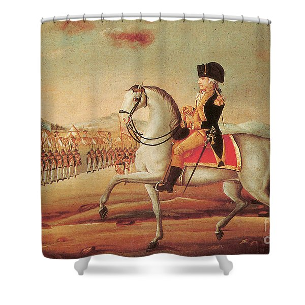 Whiskey Rebellion, 1794 Shower Curtain by Photo Researchers