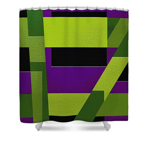 Wild Shower Curtain by Ely Arsha