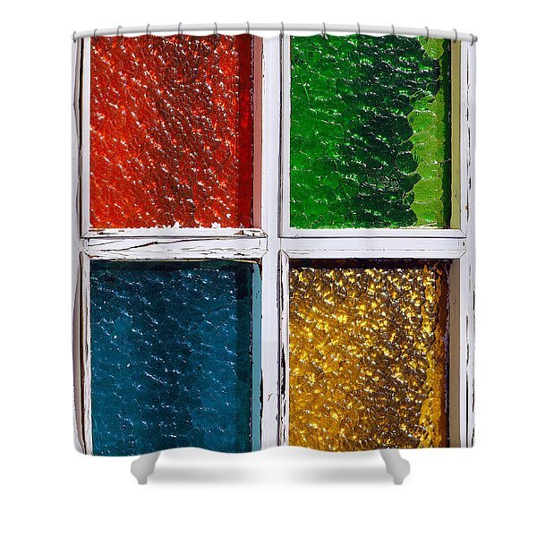 Windows Shower Curtain by Carlos Caetano
