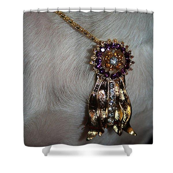 Winner Shower Curtain by Susan Herber
