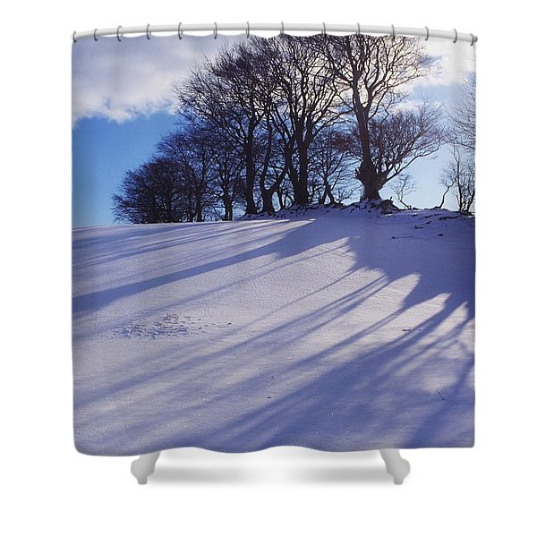 Winter Landscape Shower Curtain by The Irish Image Collection