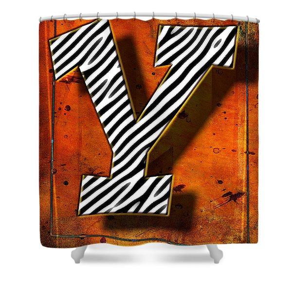 Y Shower Curtain by Mauro Celotti
