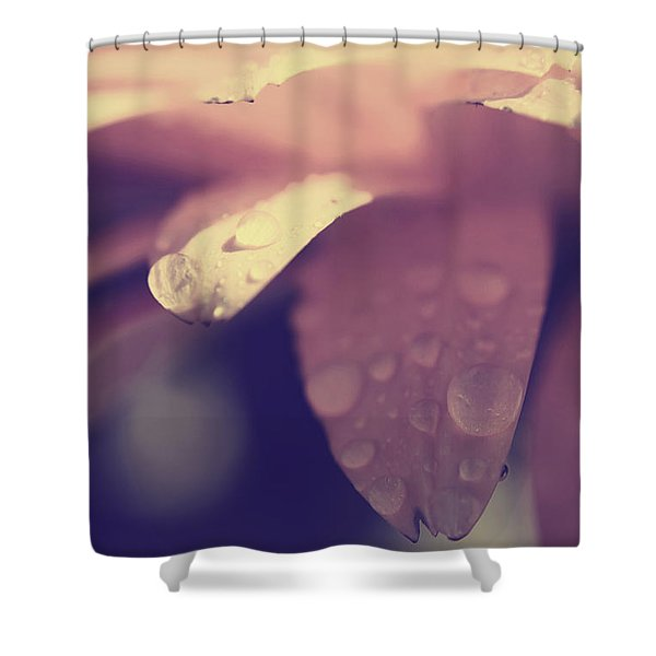 You Left Me Crying Shower Curtain by Laurie Search