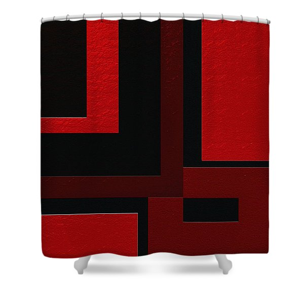 Zen Shower Curtain by Ely Arsha