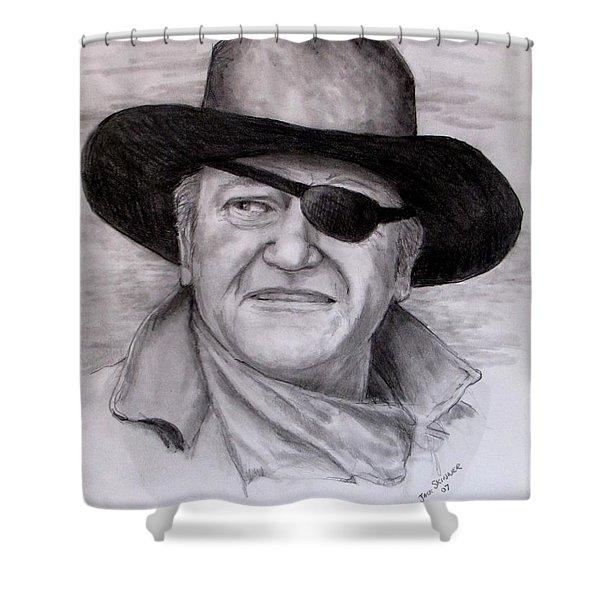 The Duke Shower Curtain by Jack Skinner