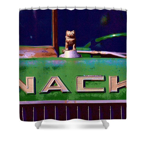Wack Truck Shower Curtain by William Jobes