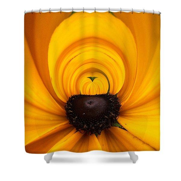Yellow 2 Shower Curtain by Jouko Lehto
