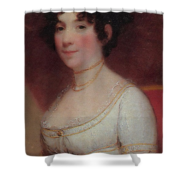 Dolley Madison Shower Curtain by Photo Researchers
