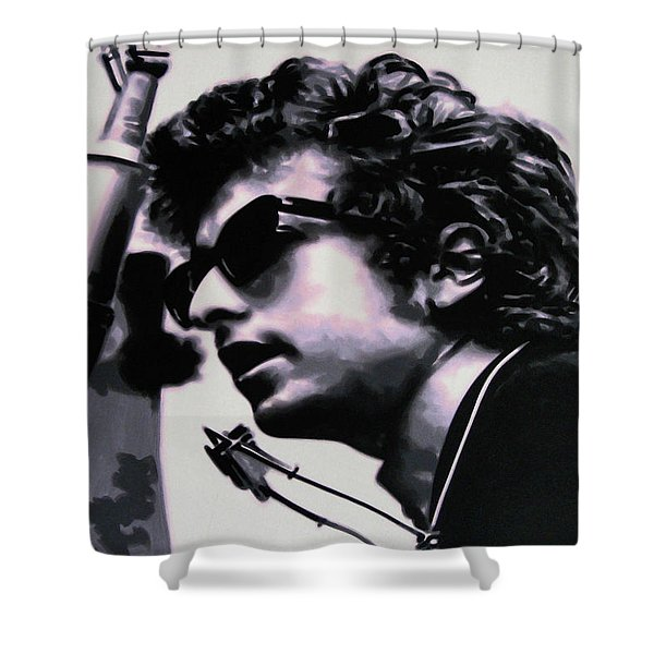 Forever Young Shower Curtain by Luis Ludzska
