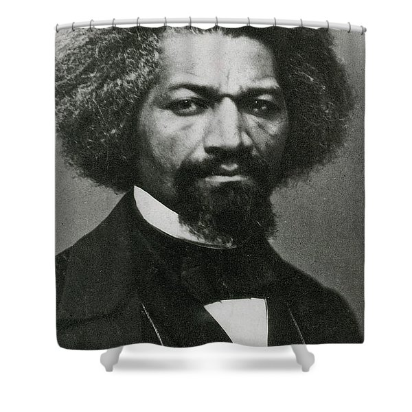 Frederick Douglass, African-american Shower Curtain by Photo Researchers