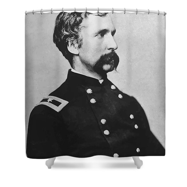 Joshua Lawrence Chamberlain Shower Curtain by War Is Hell Store