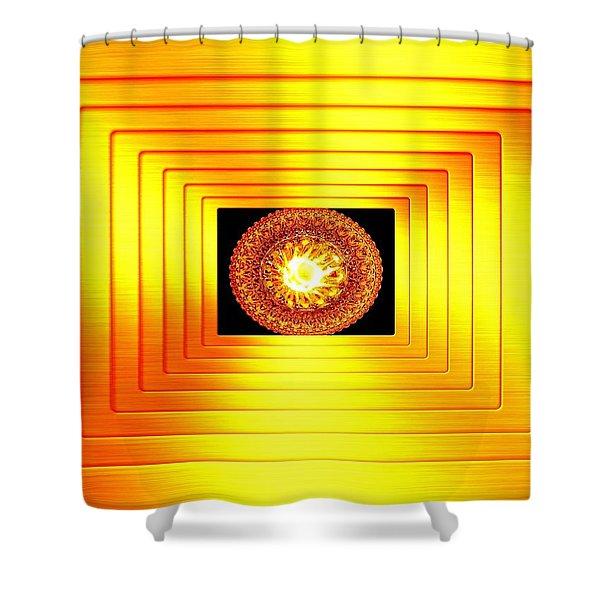 Luminous Energy 7 Shower Curtain by Will Borden