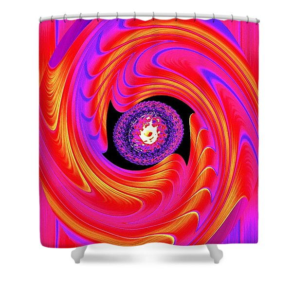 Luminous Energy 8 Shower Curtain by Will Borden