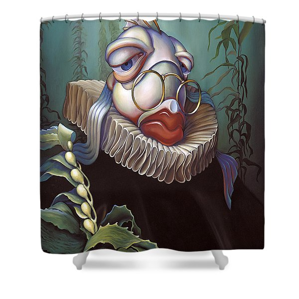 Marquis de Sole Shower Curtain by Patrick Anthony Pierson