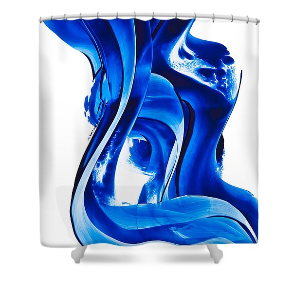 Pure Water 66 Shower Curtain by Sharon Cummings