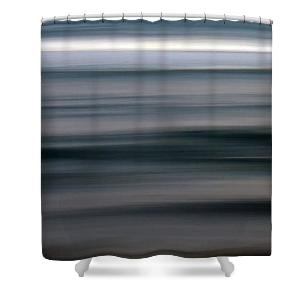 sea Shower Curtain by Stylianos Kleanthous