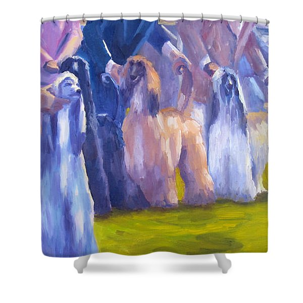The Girls Shower Curtain by Terry  Chacon