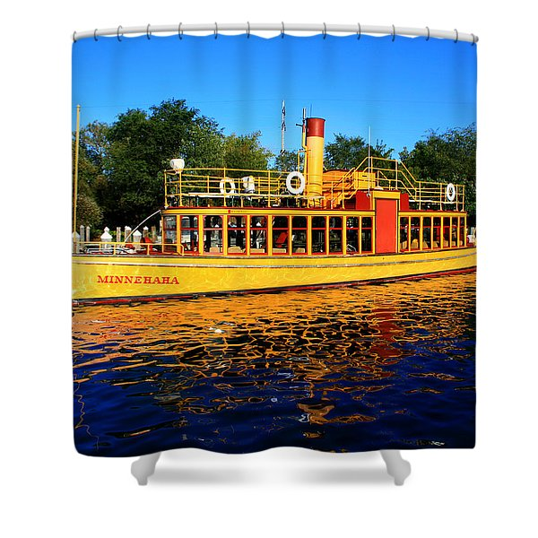 The Minnehaha Shower Curtain by Perry Webster