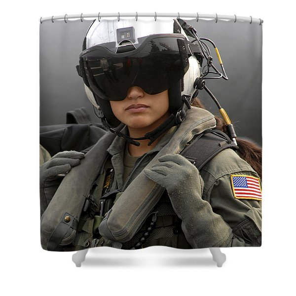 U.s. Navy Aviation Warfare Systems Shower Curtain by Stocktrek Images
