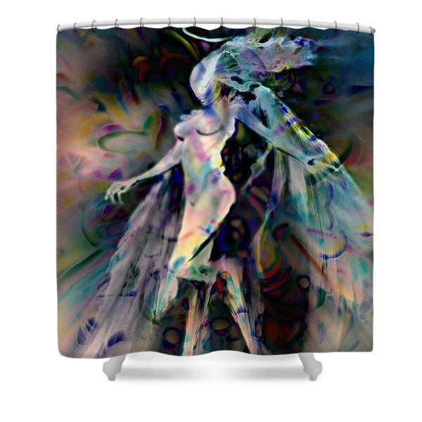 Virgo Shower Curtain by WBK