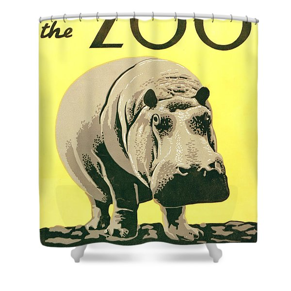 Visit The Zoo Shower Curtain by Unknown