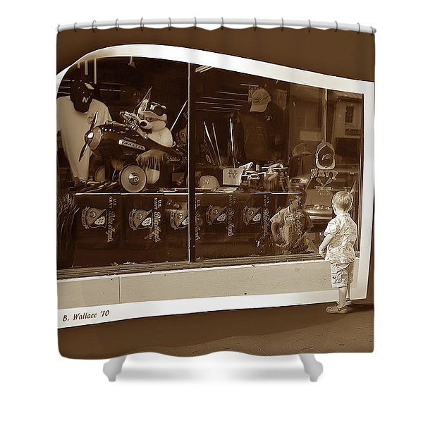 Window Dreaming Shower Curtain by Brian Wallace