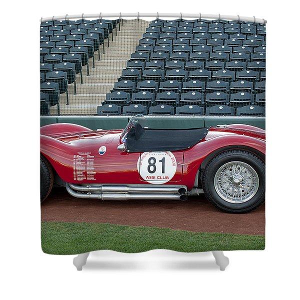 1954 Maserati A6 GCS  Shower Curtain by Jill Reger