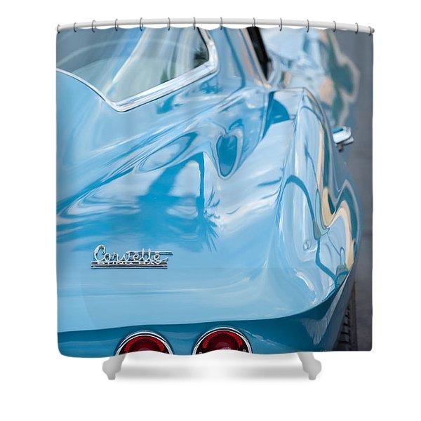 1967 Chevrolet Corvette 11 Shower Curtain by Jill Reger