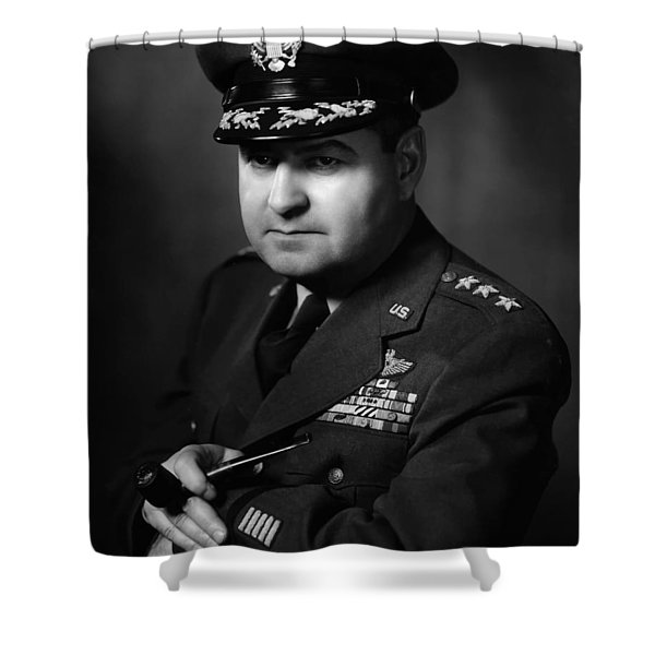 General Curtis Lemay Shower Curtain by War Is Hell Store