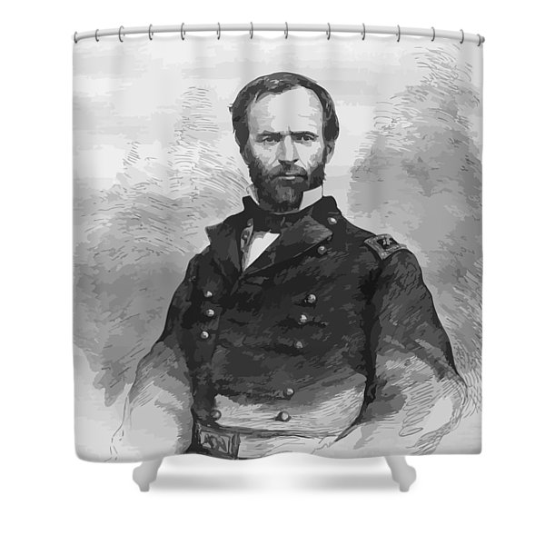 General Sherman Shower Curtain by War Is Hell Store