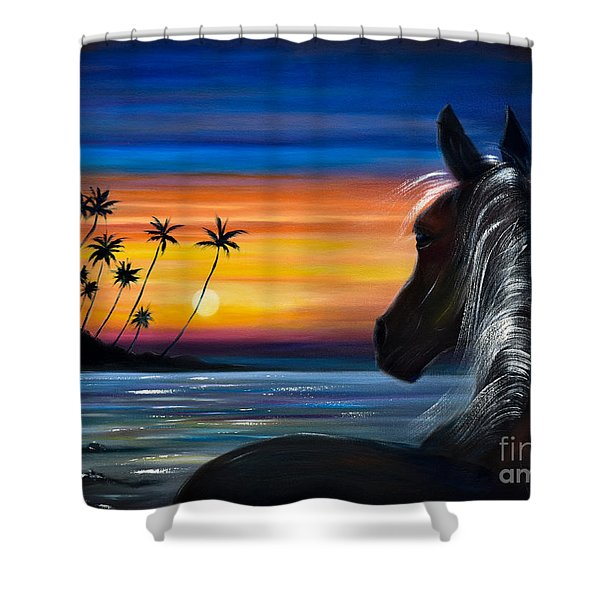 Shower Curtains - Ill Be There Shower Curtain by Gina De Gorna