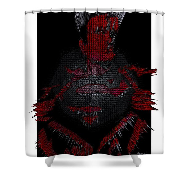3d Superman After Hours Shower Curtain by Robert Margetts
