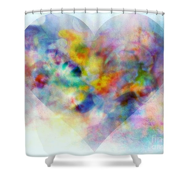 A Love Remembered Shower Curtain by Wbk