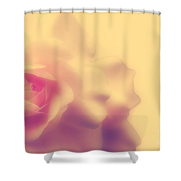 A New Day Shower Curtain by Lois Bryan