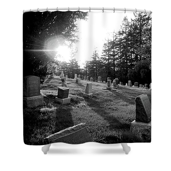 A Place To Rest Shower Curtain by Donna Blackhall
