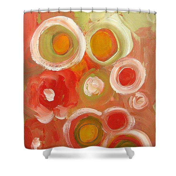 Abstract VIII Shower Curtain by Patricia Awapara