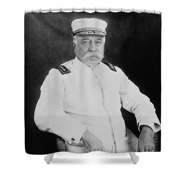 Admiral George Dewey Shower Curtain by War Is Hell Store