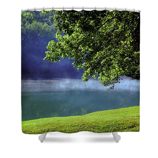 After a warm summer rain Shower Curtain by Susanne Van Hulst