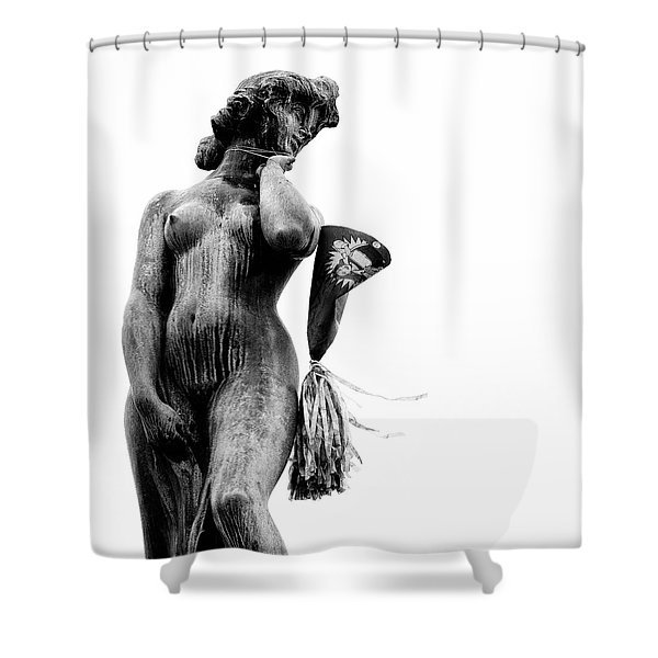 After the Party Shower Curtain by Dave Bowman