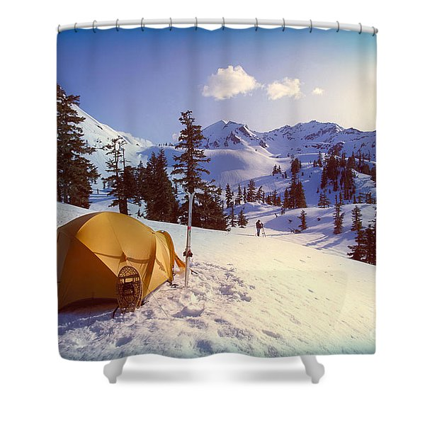 Alaska, Admiralty Island Shower Curtain by John Hyde - Printscapes