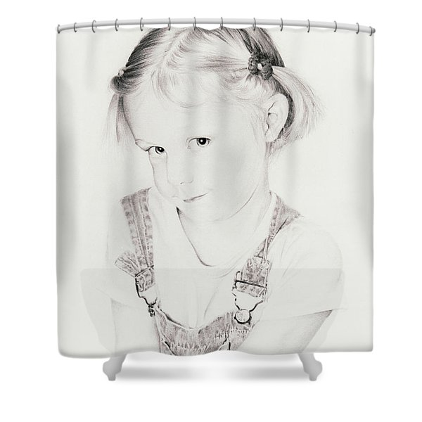 Almost Perfect Shower Curtain by Rachel Christine Nowicki