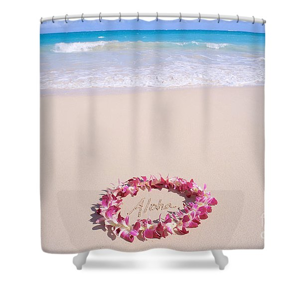 Aloha Shower Curtain by Mary Van de Ven - Printscapes