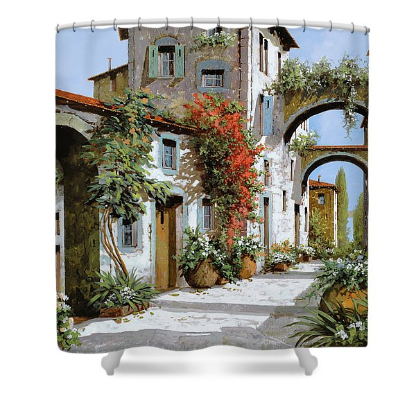 altri archi Shower Curtain by Guido Borelli