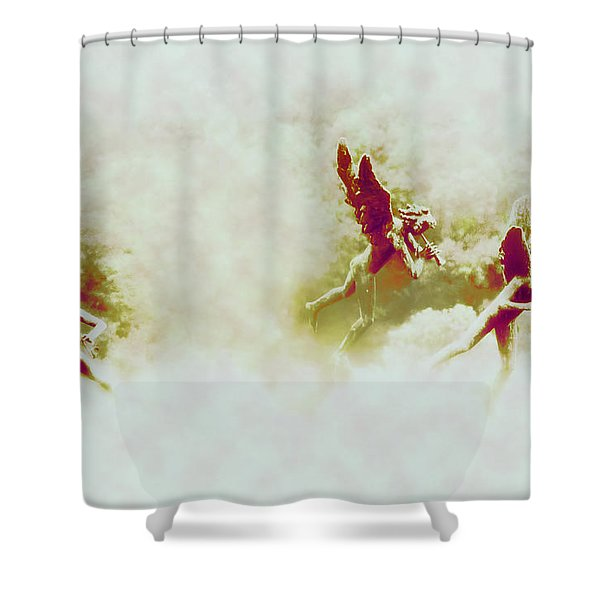Angel Song Shower Curtain by Bill Cannon