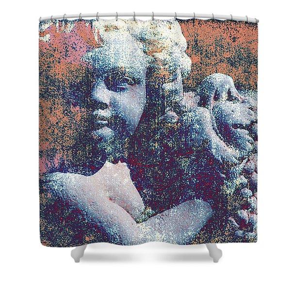 Angelina Shower Curtain by Susanne Van Hulst