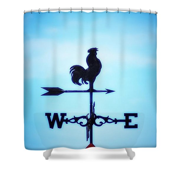 Any Way The Wind Blows Home Shower Curtain by Bill Cannon