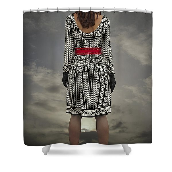 at the edge Shower Curtain by Joana Kruse